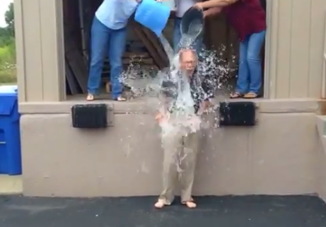 SBS Brands CEO Bill English Takes ALS Ice Bucket Challenge